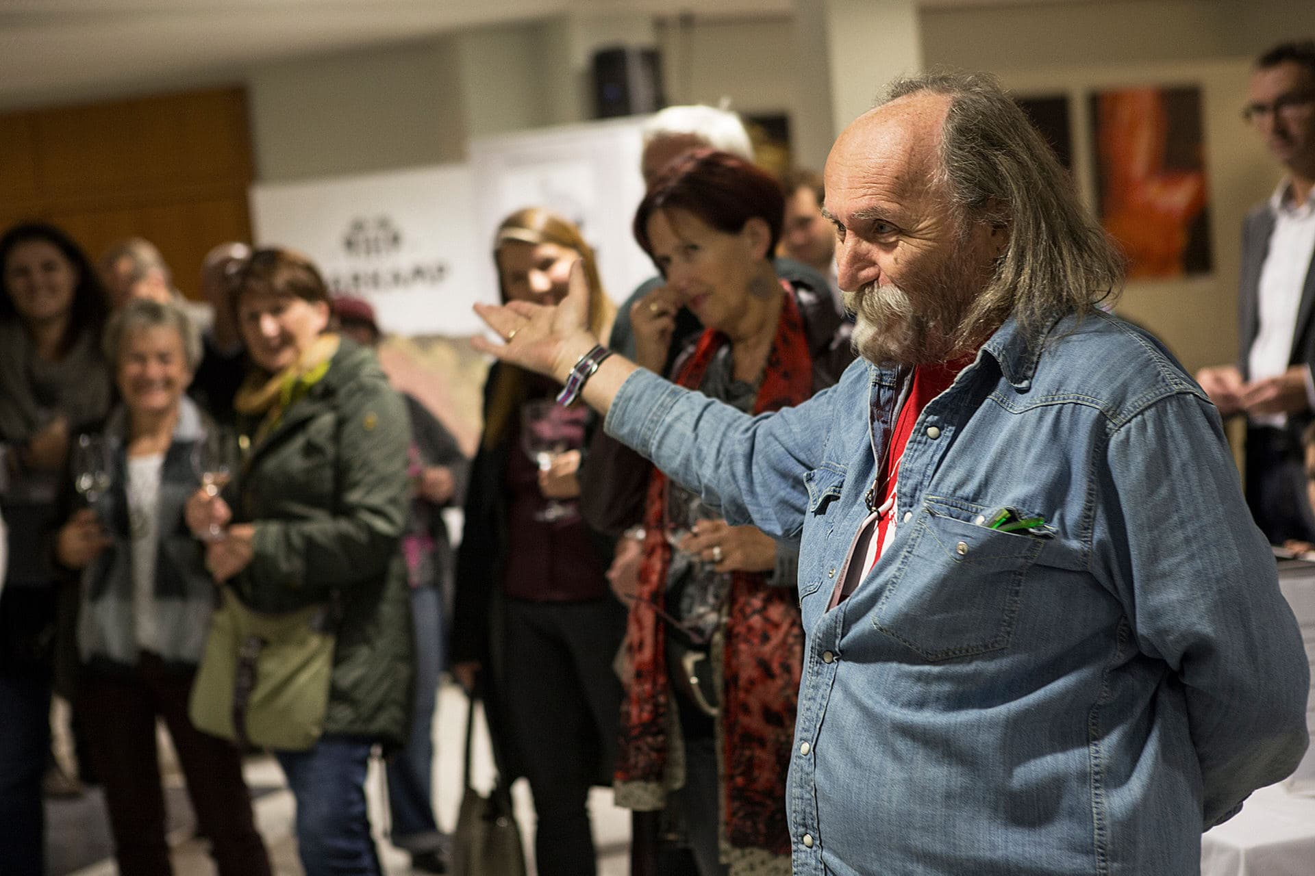 Eröffnung der Fotoausstellung  RAINER RYGALYK