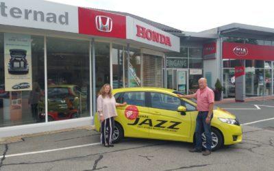 Der Honda Jazz ist das ideale Festival-Auto!