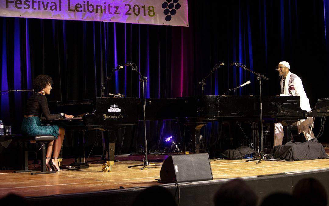 Ö1 – Zum Nachhören / Das kubanische Pianisten-Duo Marialy Pacheco und Omar Sosa